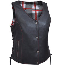 UNIK Ladies Vest with Red / White Flannel Liner