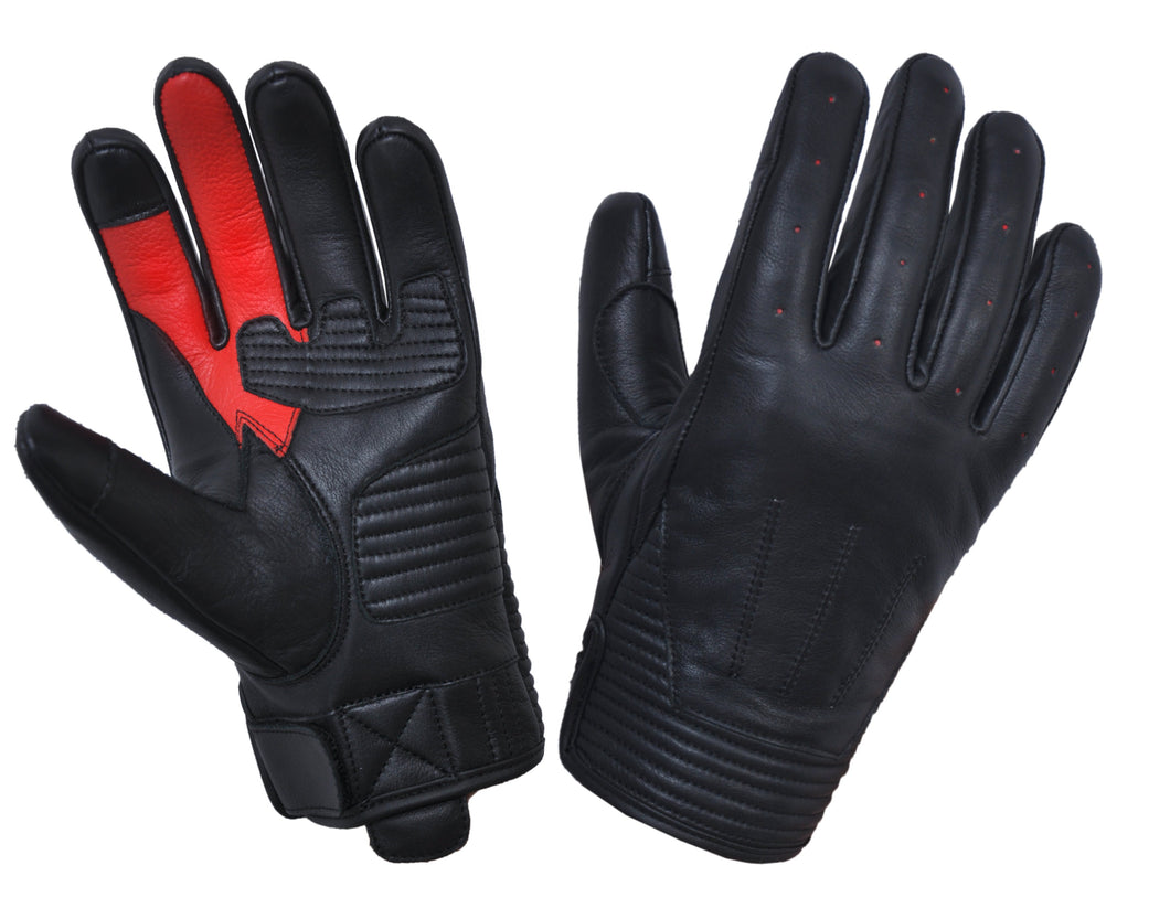 UNIK Full Finger Kevlar Leather Gloves