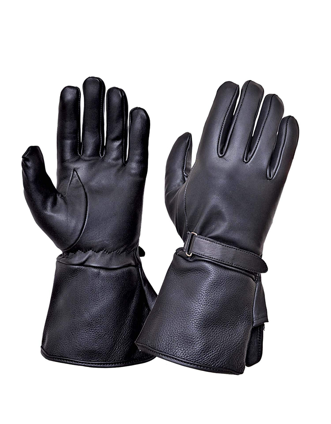 UNIK Gauntlet Leather Gloves - Ghost Rider Leather