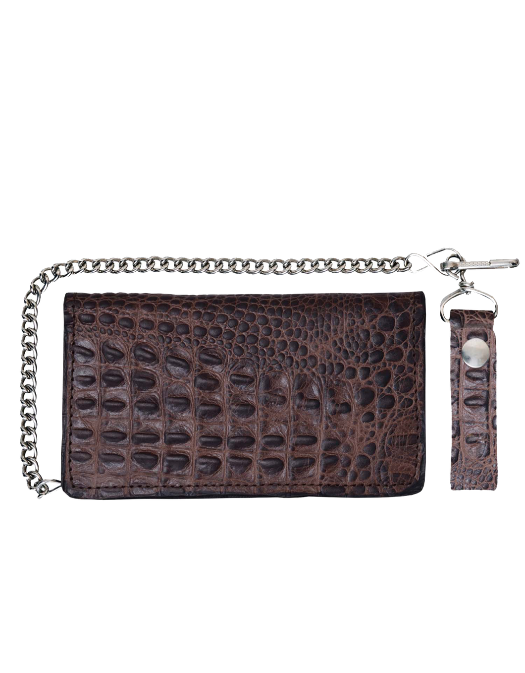 UNIK Leather Biker Chain Wallet - Ghost Rider Leather