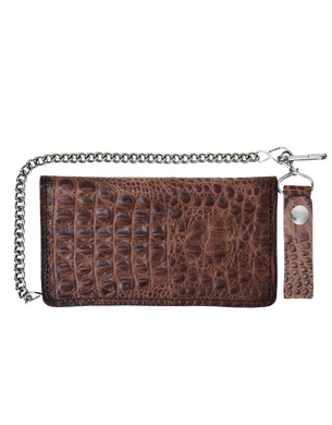 UNIK Leather Biker Chain Wallets - Ghost Rider Leather