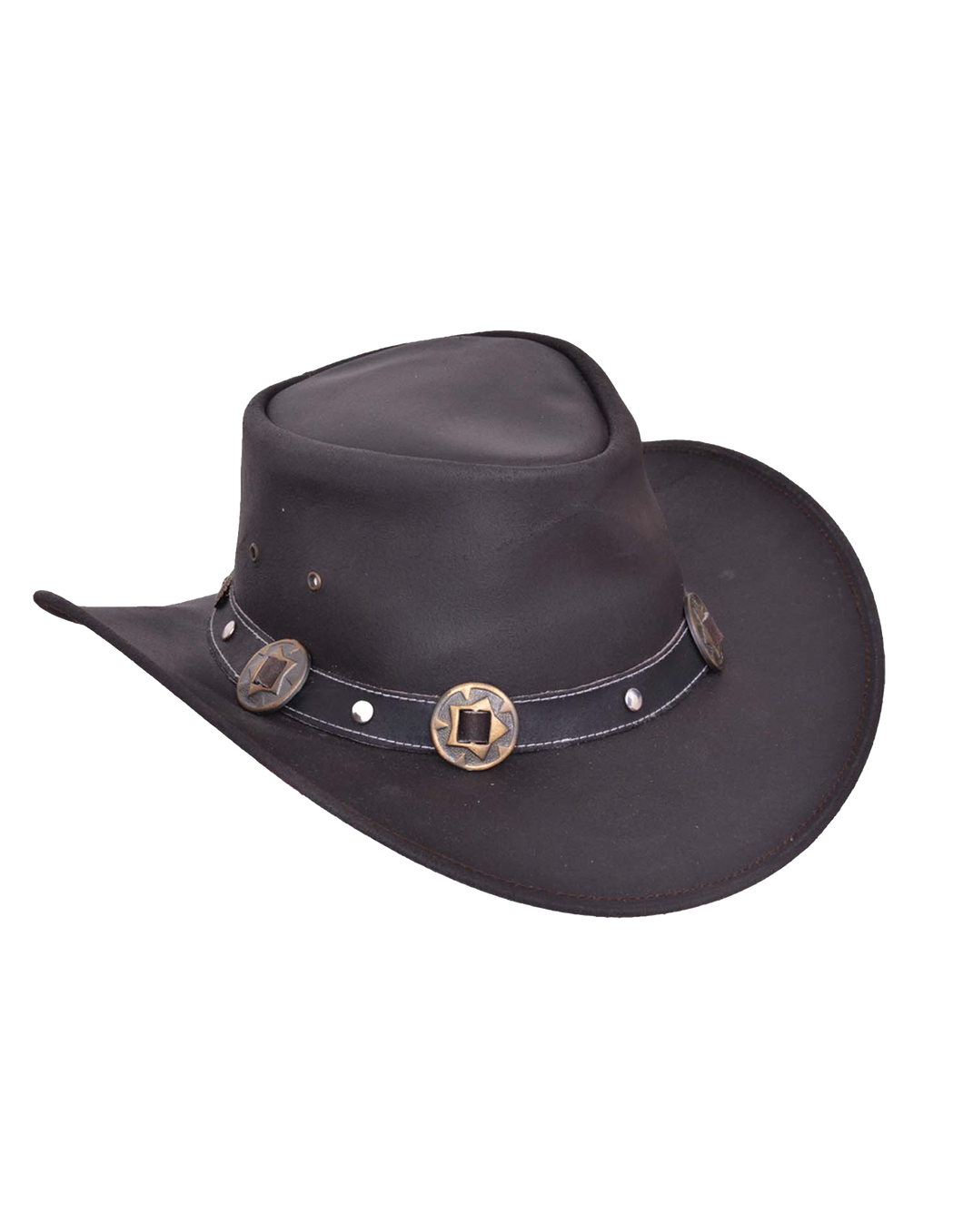 UNIK Leather Outback Hats - Ghost Rider Leather