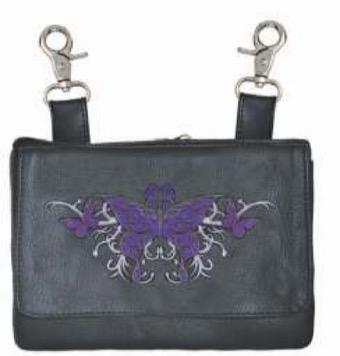 UNIK Ladies Clip on Bag - Ghost Rider Leather