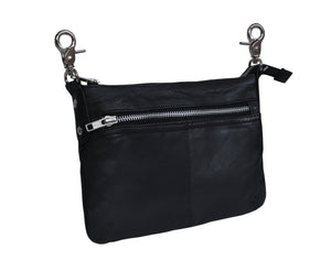 UNIK Ladies Clip on Bag with Gun Holster - Ghost Rider Leather