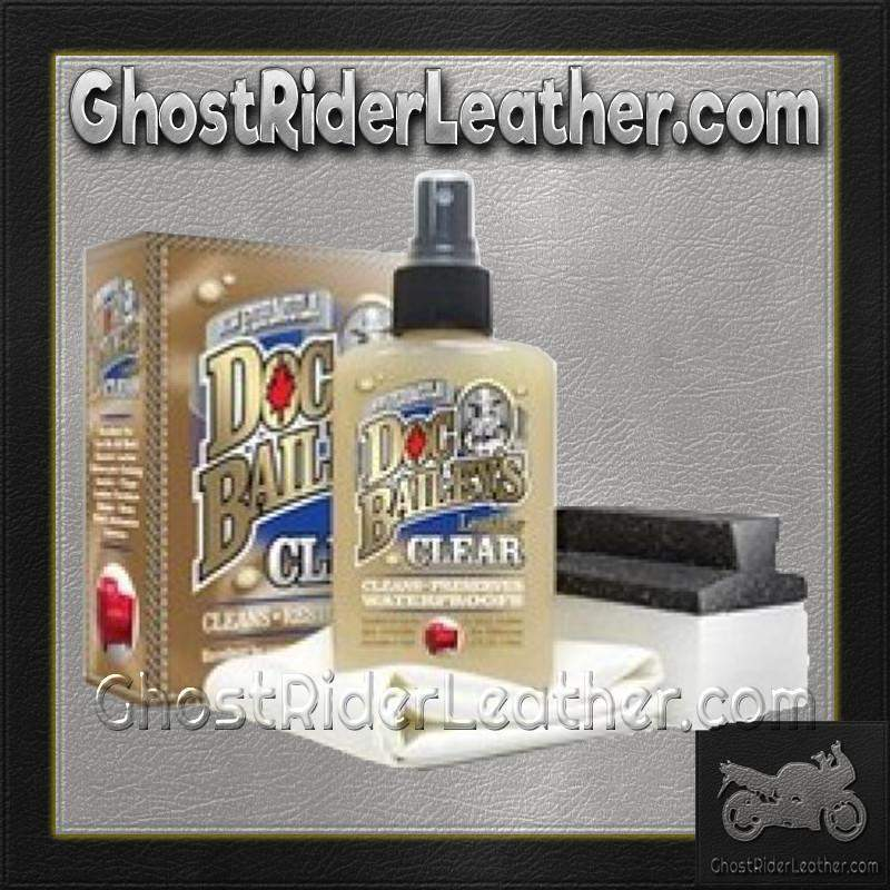 Doc Bailey's Leather Clear Cleaner and Conditioner Kit / SKU GRL-AL3351-AL - Ghost Rider Leather