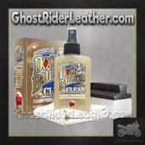 Doc Bailey's Leather Clear Cleaner and Conditioner Kit / SKU GRL-AL3351-AL-leather jacket-Ghost Rider Leather