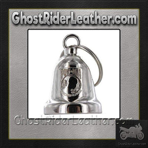 POW MIA - Motorcycle Ride Bell - SKU GRL-BLC18-DL-motorcycle ride bell-Ghost Rider Leather