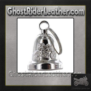 Angel Riding Motorcycle - Motorcycle Ride Bell - SKU GRL-BLC19-DL - Ghost Rider Leather