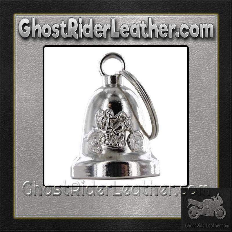 Angel Riding Motorcycle - Motorcycle Ride Bell - SKU GRL-BLC19-DL-motorcycle ride bell-Ghost Rider Leather