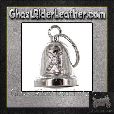 Rebel Flag - Confederate Flag - Motorcycle Ride Bell - SKU GRL-BLC20-DL - Ghost Rider Leather