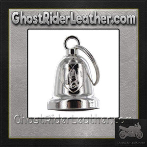 Praying Hands Inside Heart - Chrome Motorcycle Ride Bell - SKU GRL-BLC23-DL - Ghost Rider Leather