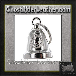Police Star - Motorcycle Ride Bell - SKU GRL-BLC24-DL-motorcycle ride bell-Ghost Rider Leather