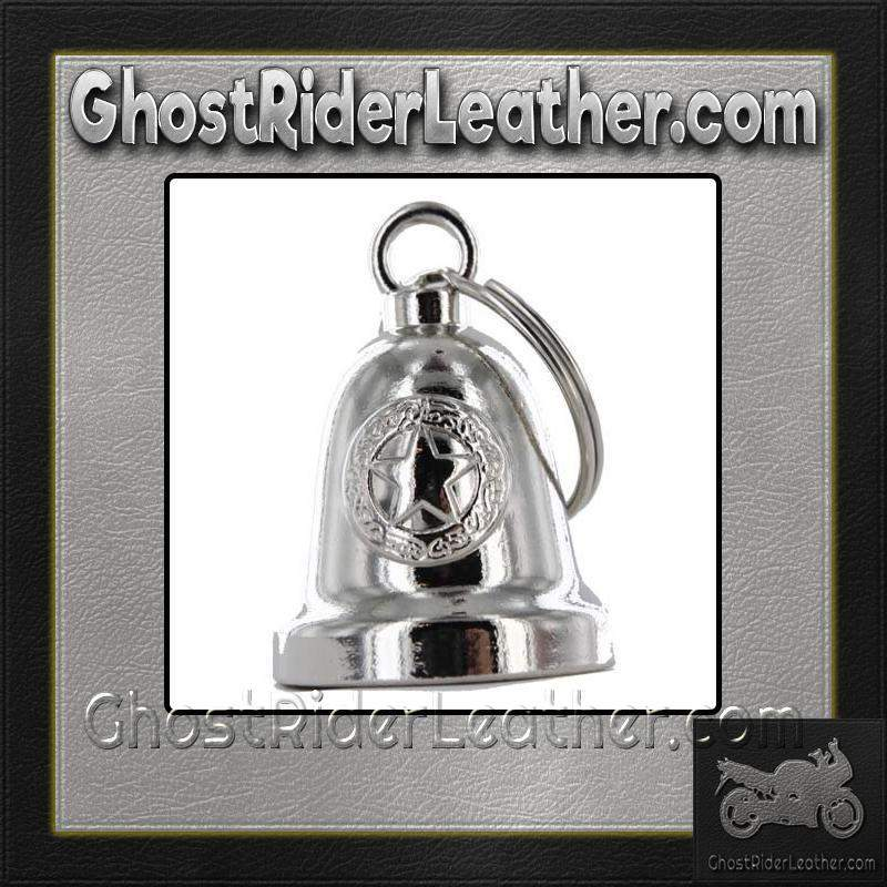 Police Star - Motorcycle Ride Bell - SKU GRL-BLC24-DL - Ghost Rider Leather