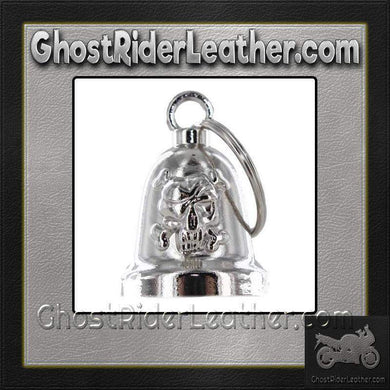 Skull and Crossbones - Motorcycle Ride Bell - SKU GRL-BLC25-DL - Ghost Rider Leather
