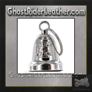 Iron Cross - Chopper Cross Motorcycle Ride Bell - SKU GRL-BLC26-DL - Ghost Rider Leather