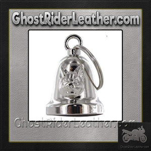 Hog - Pig - Motorcycle Ride Bell - SKU GRL-BLC27-DL-motorcycle ride bell-Ghost Rider Leather