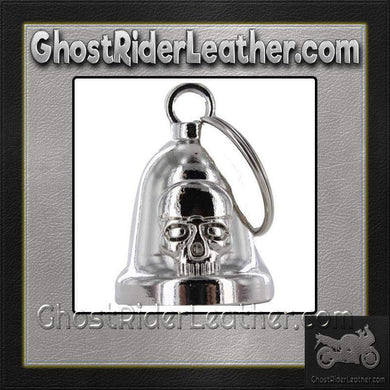 Skull - Motorcycle Ride Bell - SKU GRL-BLC28-DL - Ghost Rider Leather