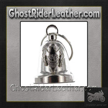 Evil Joker - Chrome Motorcycle Ride Bell - SKU GRL-BLC30-DL - Ghost Rider Leather