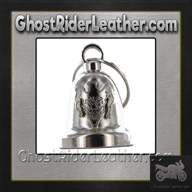 Evil Joker - Motorcycle Ride Bell - SKU GRL-BLC30-DL-motorcycle ride bell-Ghost Rider Leather