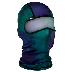 Balaclava Full Face Mask - Northern Lights Design - SKU GRL-NORTHERNLIGHTS-BALA-HI - Ghost Rider Leather
