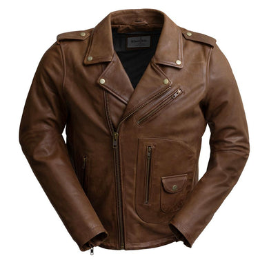 SID - MEN'S LEATHER JACKET - WBM2803 - Ghost Rider Leather