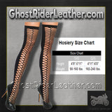 Ladies Black Bodystocking - SKU GRL-8802-EML-Intimate Apparel-Ghost Rider Leather