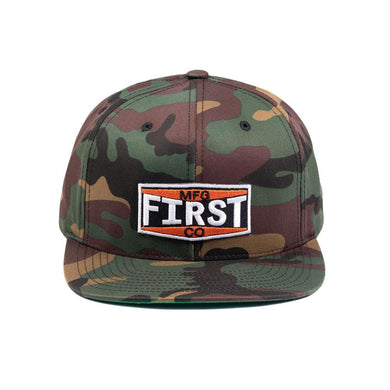 Camo Logo Hat - Ghost Rider Leather