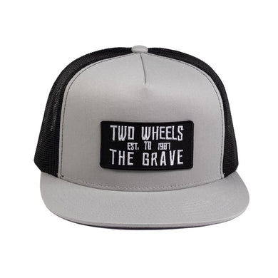TWTG Two Tone Hat - Ghost Rider Leather