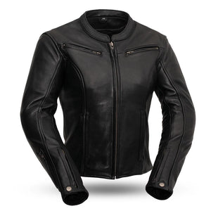Speed Queen - Women's Leather Motorcycle Jacket - Ghost Rider Leather