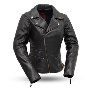 Monte Carlo Women's Classic Leather Jacket - Ghost Rider Leather