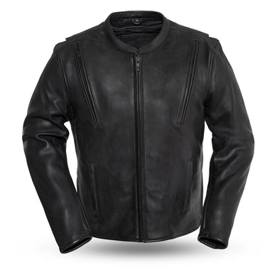Revolt - Men's Motorcycle Leather Jacket - Ghost Rider Leather