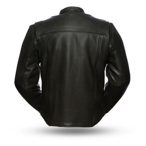 Revolt - Men's Motorcycle Leather Jacket - SKU GRL-FIM271CPMZ-FM - Ghost Rider Leather