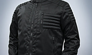 Invincible - Men's Cordura Motorcycle Jacket - Ghost Rider Leather