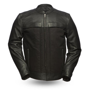 Invader - Motorcycle Leather Jacket - Ghost Rider Leather