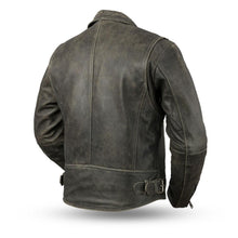 Enforcer - Men's Leather Motorcycle Jacket - FIM297CTFYZ - Ghost Rider Leather