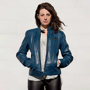 Favorite - Women's Leather Jacket - Many Colors - WBL1025 - Ghost Rider Leather