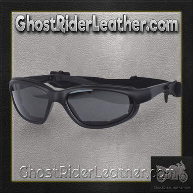 Daytona Goggles With Transitional Lenses - Clear To Smoke / SKU GRL-G-T-DH-goggles-Ghost Rider Leather