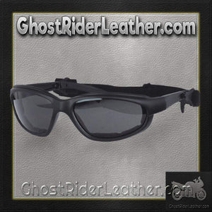Daytona Goggles With Transitional Lenses - Clear To Smoke / SKU GRL-G-T-DH - Ghost Rider Leather