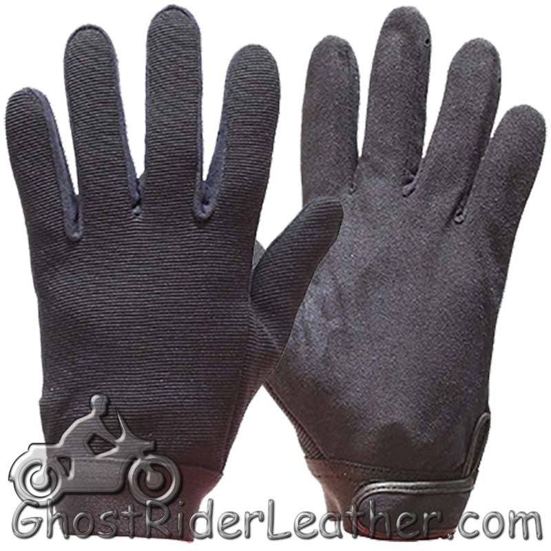 Black Mechanics Gloves / SKU GRL-GLZ50-DL