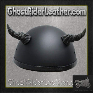 Bull Horns - Helmet Horns - Ogre Horns - Motorcycle Helmet Accessories / SKU GRL-HA-11B-HI - Ghost Rider Leather