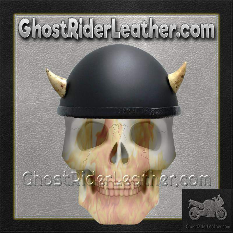 Bull Horns - Helmet Horns - Small Devil Horns - Motorcycle Helmet Accessories / SKU GRL-HA-16B-HI