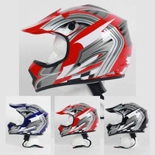 DOT Kids ATV - Dirt Bike - Motocross - Helmets - Graphics - Color Choice / SKU GRL-DOTATVKIDS-MX-G-HI-dot motorcycle helmet-Ghost Rider Leather