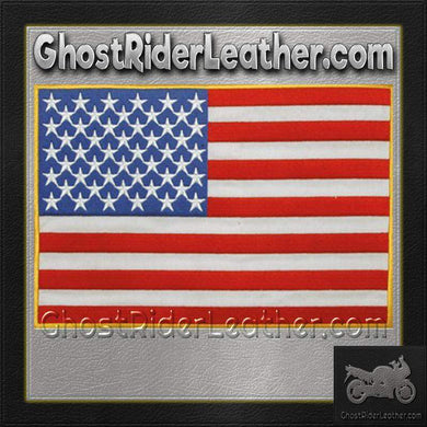 American Flag Patch / SKU GRL-PAT-B102-DL-biker patch-Ghost Rider Leather