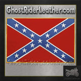 Confederate Flag Patch / SKU GRL-PAT-B103-DL-biker patch-Ghost Rider Leather