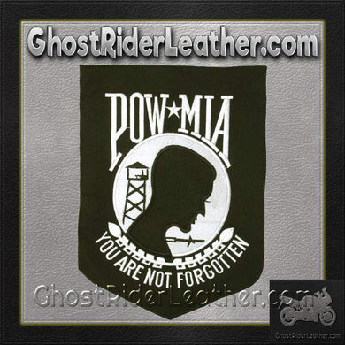POW MIA - You Are Not Forgotten Patch / SKU GRL-PAT-B104-DL-biker patch-Ghost Rider Leather