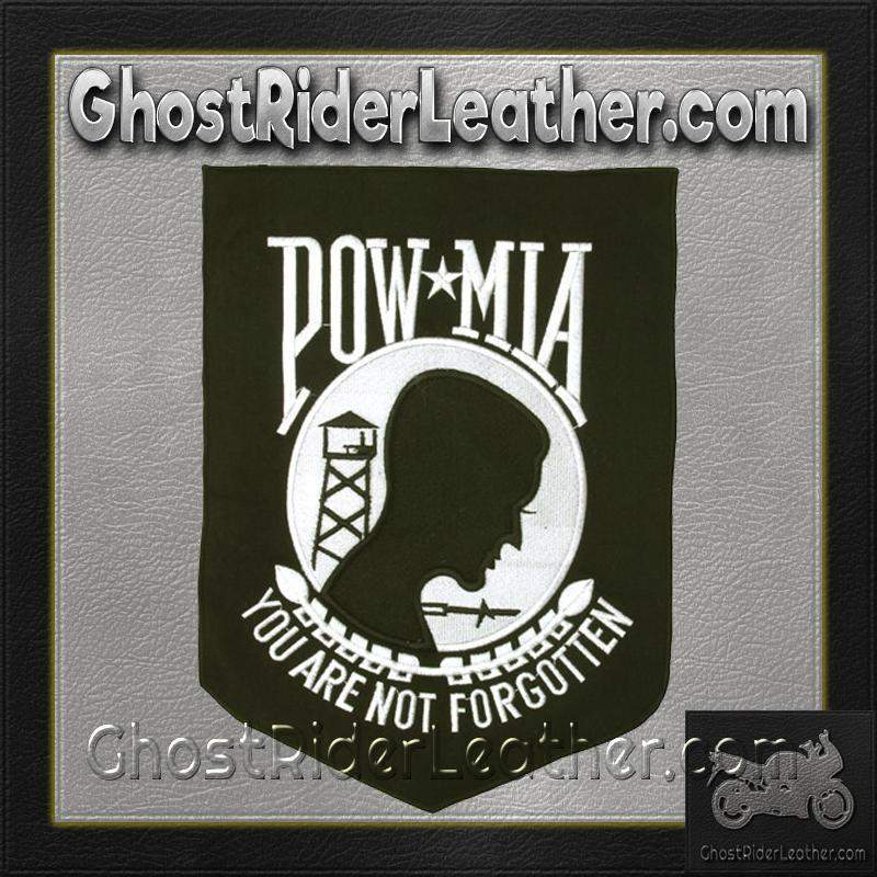 POW MIA - You Are Not Forgotten Patch / SKU GRL-PAT-B104-DL - Ghost Rider Leather