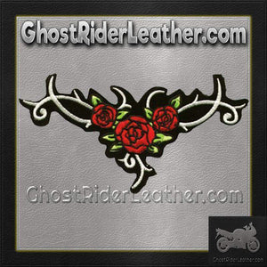 Ladies Red Roses Patch / SKU GRL-PAT-C218-DL - Ghost Rider Leather