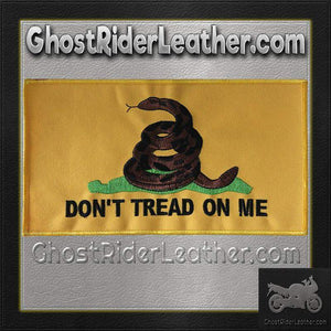 Yellow Gadsden Flag Patch / SKU GRL-PAT-C230-DL-military patch-Ghost Rider Leather