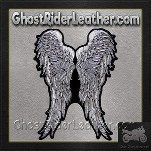 Angel Wings Vest Patch - SKU GRL-PPA8273-HI - Ghost Rider Leather