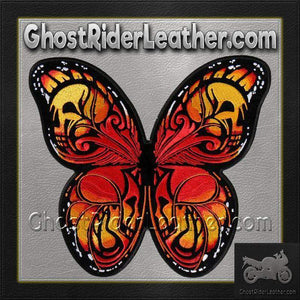 Colorful Butterfly Vest Patch - SKU GRL-PPA8320-HI - Ghost Rider Leather